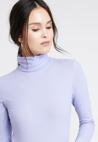 POSTYR - POSKUNIGUNDE ROLL NECK - Long sleeved top - lilac - 3