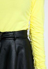 POSTYR - POSKUNIGUNDE - Long sleeved top - limelight - 5