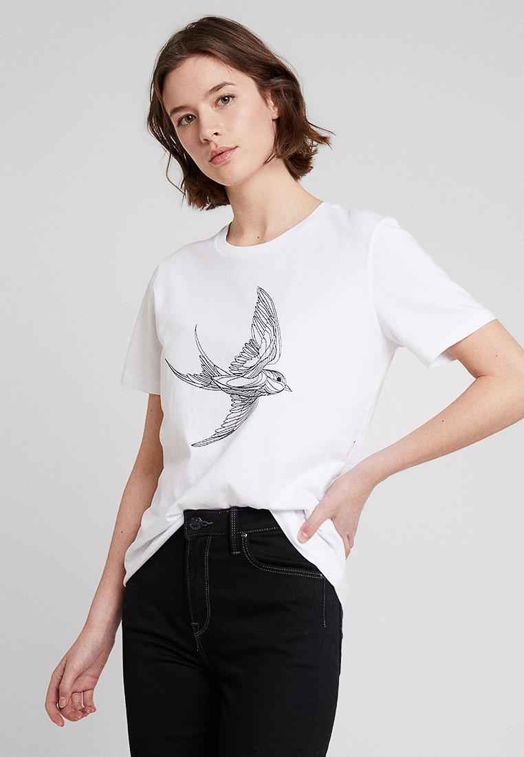 POSTYR - T-Shirt print - bright white