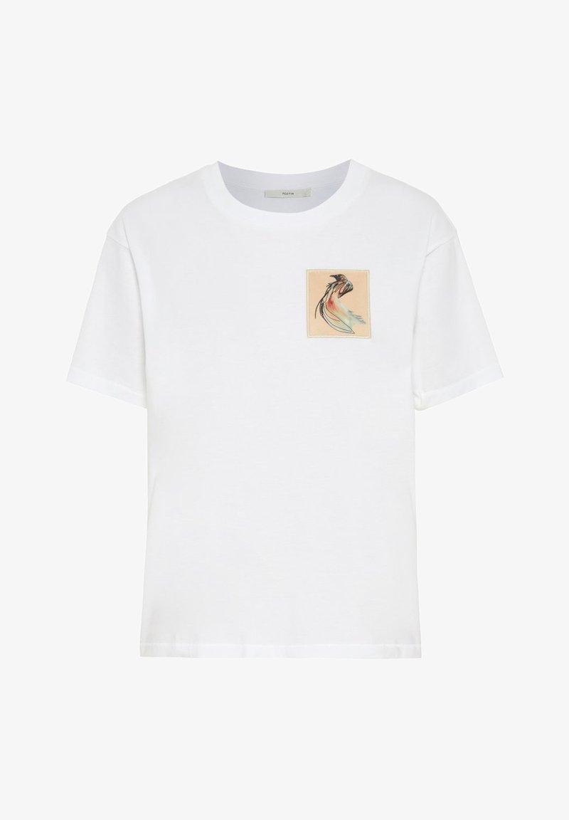 POSTYR - Print T-shirt - bright white