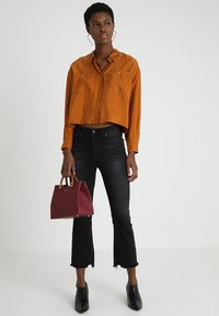 POSTYR - POSAUGUSTA - Button-down blouse - cathay spice - 1