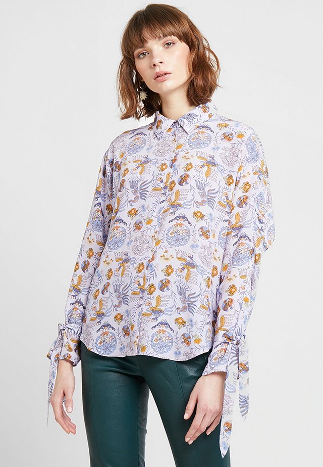 POSASTRID - Button-down blouse - sweet lavender