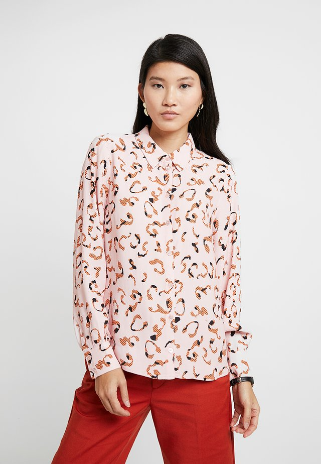 POSLAURA - Button-down blouse - peachskin
