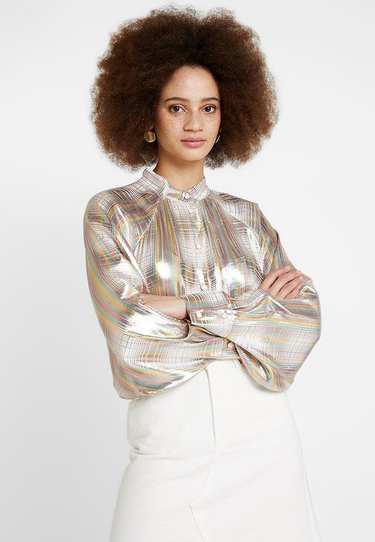 POSTYR - POSAVA  - Button-down blouse - bright white