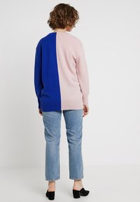 POSTYR - POSCATHARINA CARDIGAN - Kardigan - dazzling blue/pink dogwoo - 2