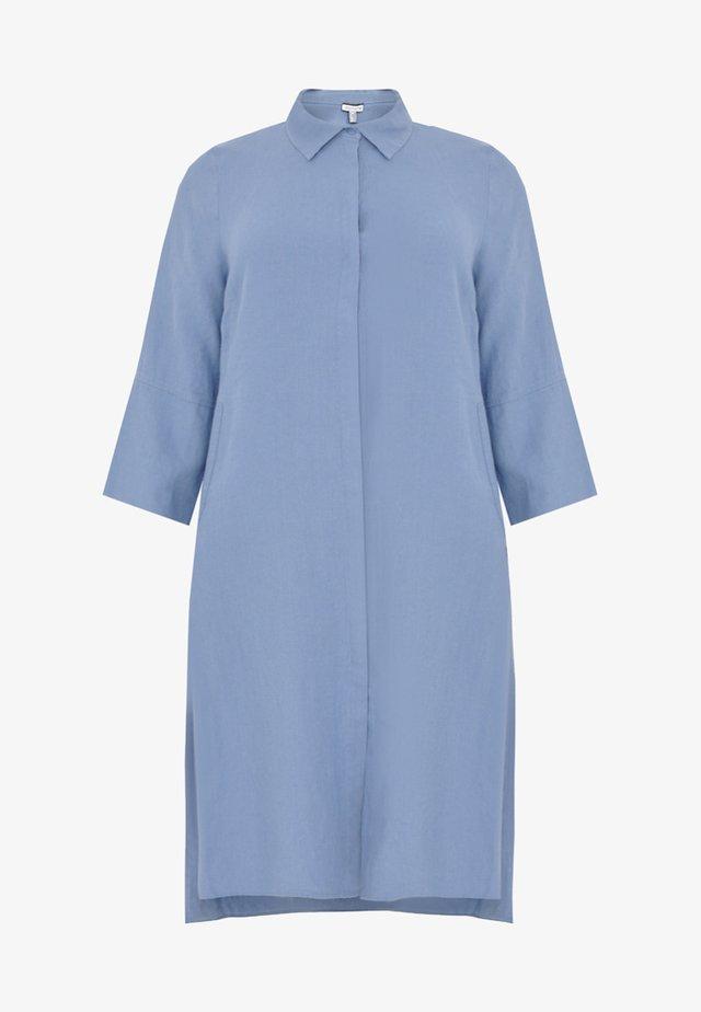 Robe chemise - indigo