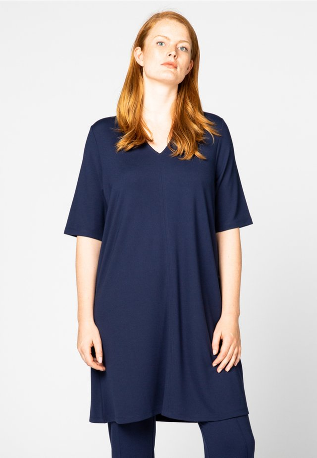 WITH BUTTONS - Tunique - navy