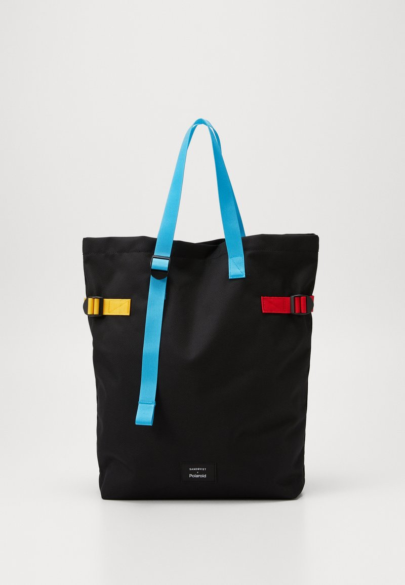 Polaroid - STOCKHOLM X SANDQVIST - Tote bag - black