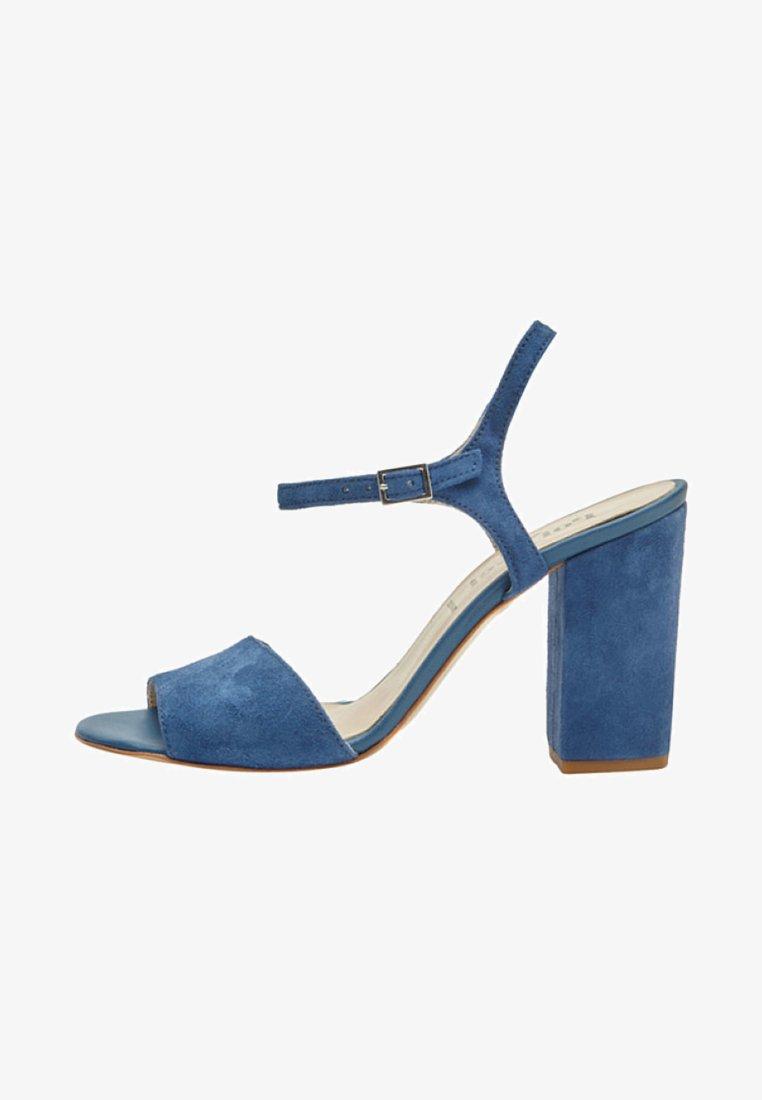 PoiLei - SENTA - Sandalen met hoge hak - blue