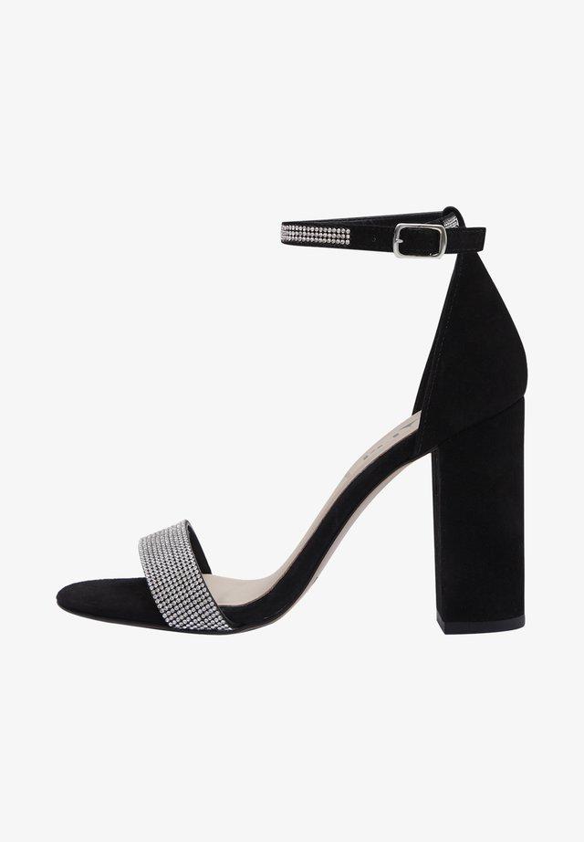 AVA - High Heel Sandalette - black