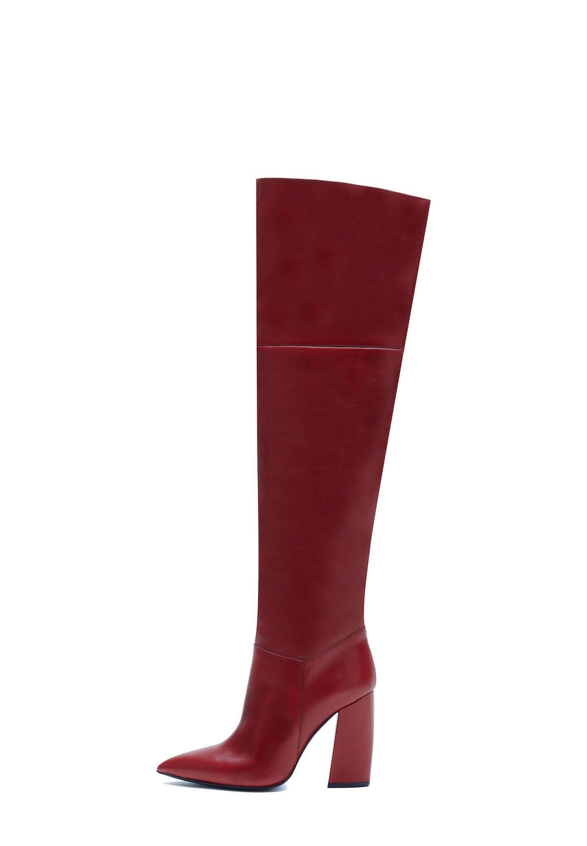 Schoenen XTI Overknee laarzen gris Grijs: € 84,95 Bij
