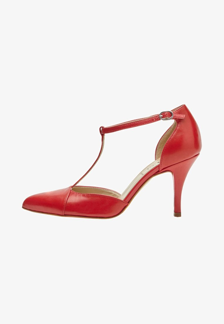 PoiLei - PALOMA - Højhælede pumps - red