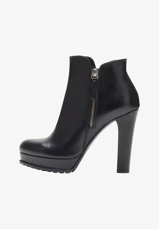 ZOE - High Heel Stiefelette - black