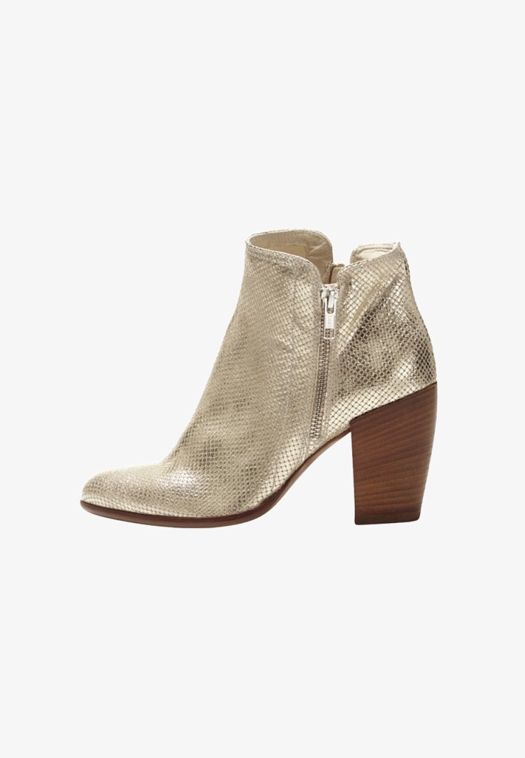 PoiLei - Classic ankle boots - gold