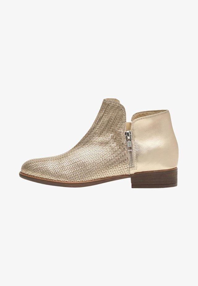 Boots à talons - gold