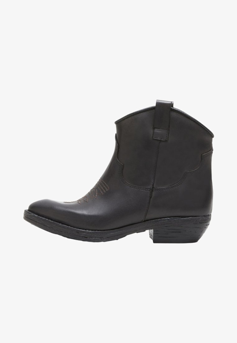 PoiLei - ASHLEY - Cowboy/biker ankle boot - braun