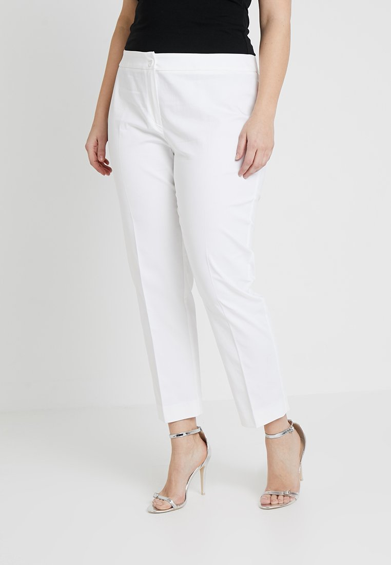 Persona by Marina Rinaldi - RECORD TROUSERS - Bukser - weiss