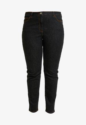 ILENIA - Spodnie materiałowe - nero