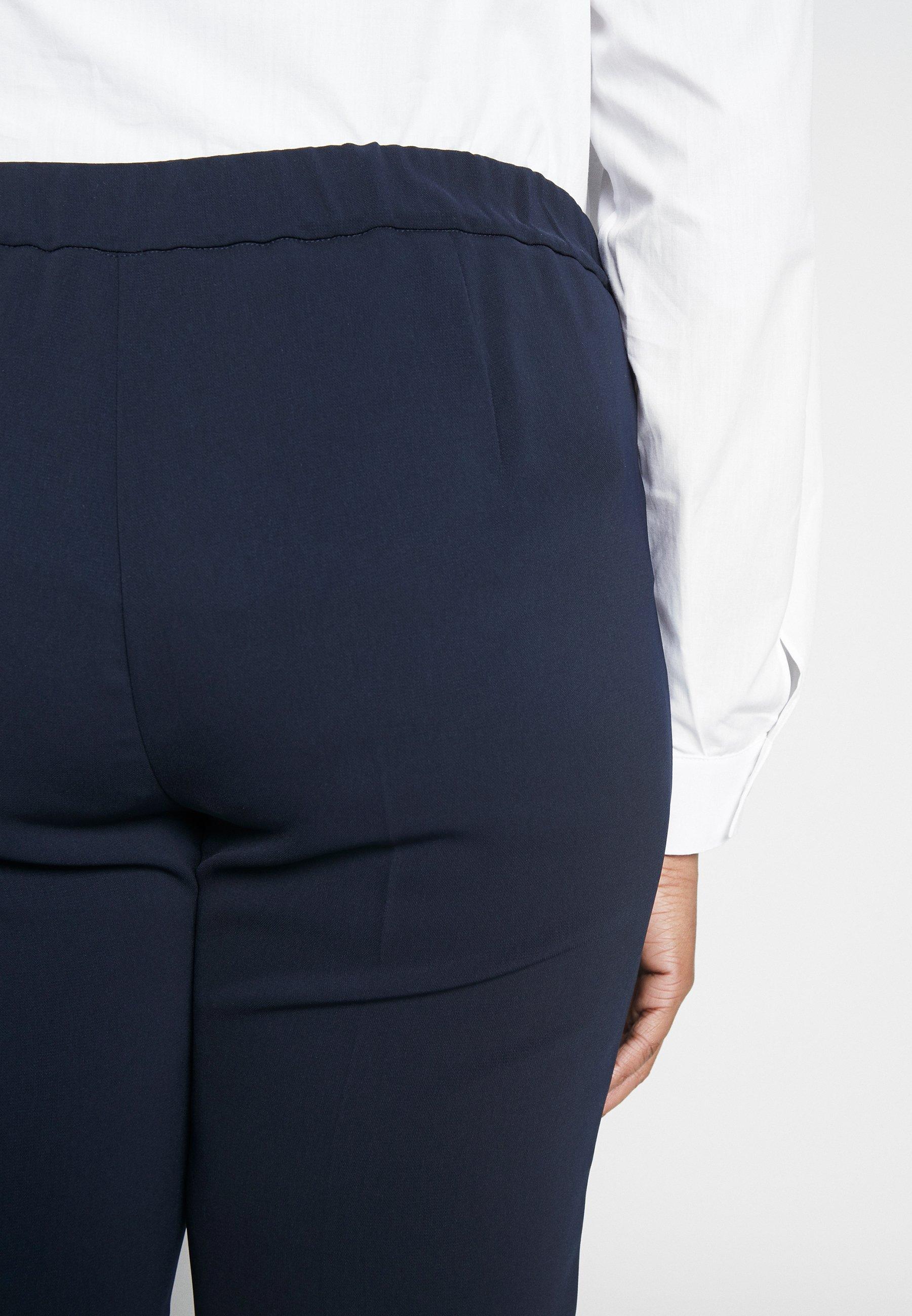 Persona by Marina Rinaldi REGINA - Spodnie materiałowe - blu marino