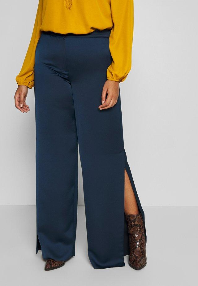 RITA - Spodnie materiałowe - blu marino