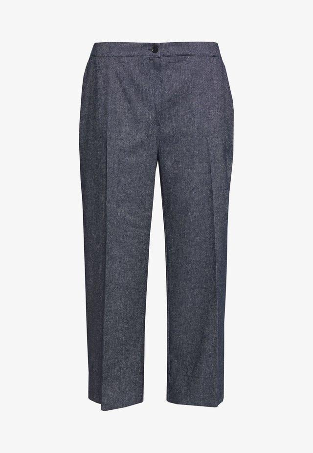 RICCIOLO - Spodnie materiałowe - dark blue