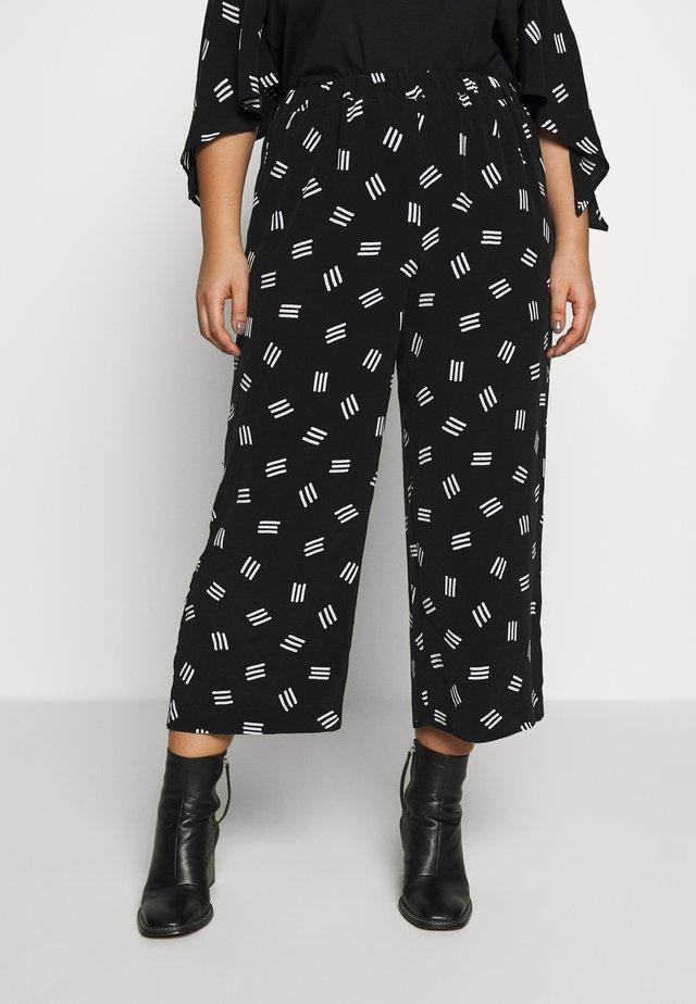 RENDERE - Spodnie materiałowe - nero