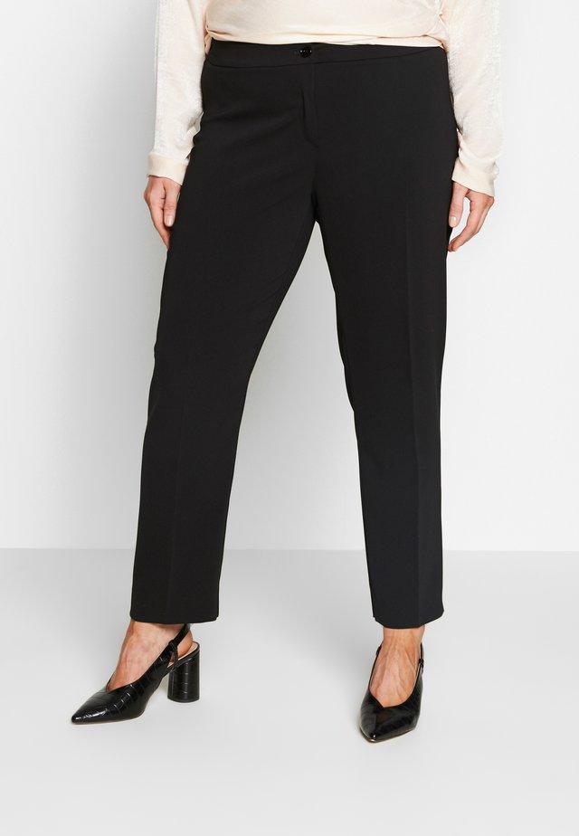 REGINA - Spodnie materiałowe - schwarz