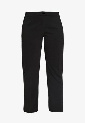 REGINA - Trousers - schwarz