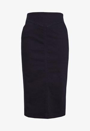 CAPRI - Pouzdrová sukně - marine blau