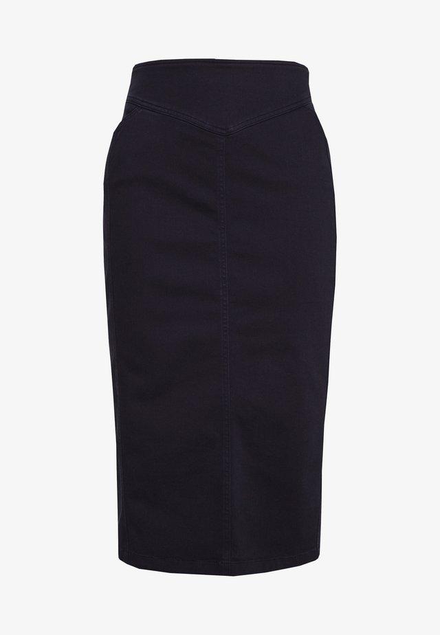 CAPRI - Spódnica ołówkowa  - marine blau
