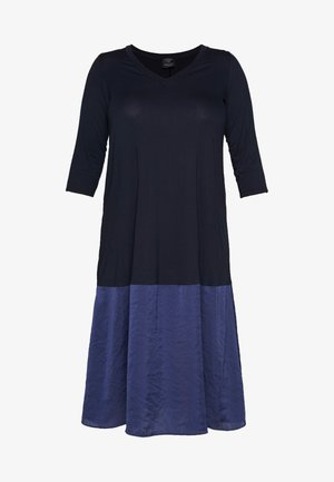 OPEN - Jersey dress - marine blue