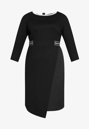 ONDA - Pouzdrové šaty - nero