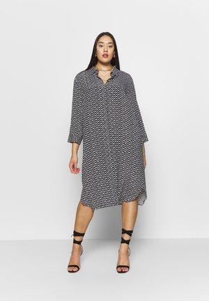 DORSO - Shirt dress - nero