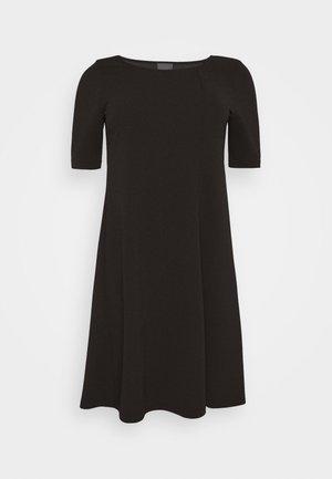OIL - Jersey dress - black