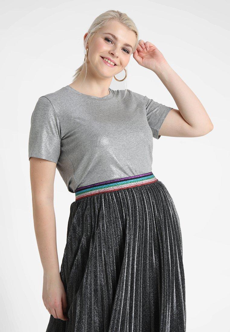 Persona by Marina Rinaldi - VANNA - T-shirt imprimé - silber