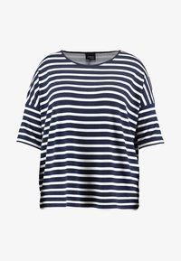 Persona by Marina Rinaldi - VASO - Print T-shirt - marine blue - 4
