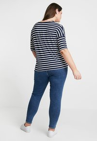 Persona by Marina Rinaldi - VASO - Print T-shirt - marine blue - 2