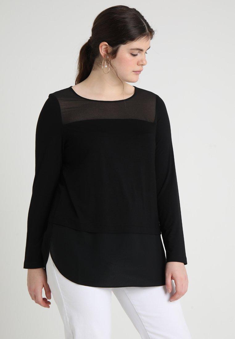 Persona by Marina Rinaldi - VENUS - T-shirt à manches longues - schwarz