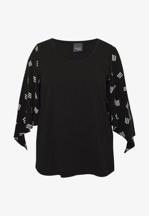 VENTI - T-shirt à manches longues - nero