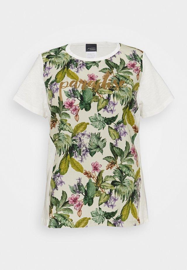 VEDETTA - T-shirts med print - bianco