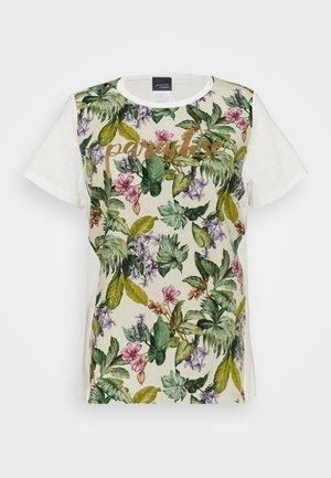 VEDETTA - T-shirt z nadrukiem - bianco