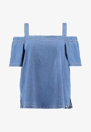BASCO BLOUSE - Blouse - light-blue denim