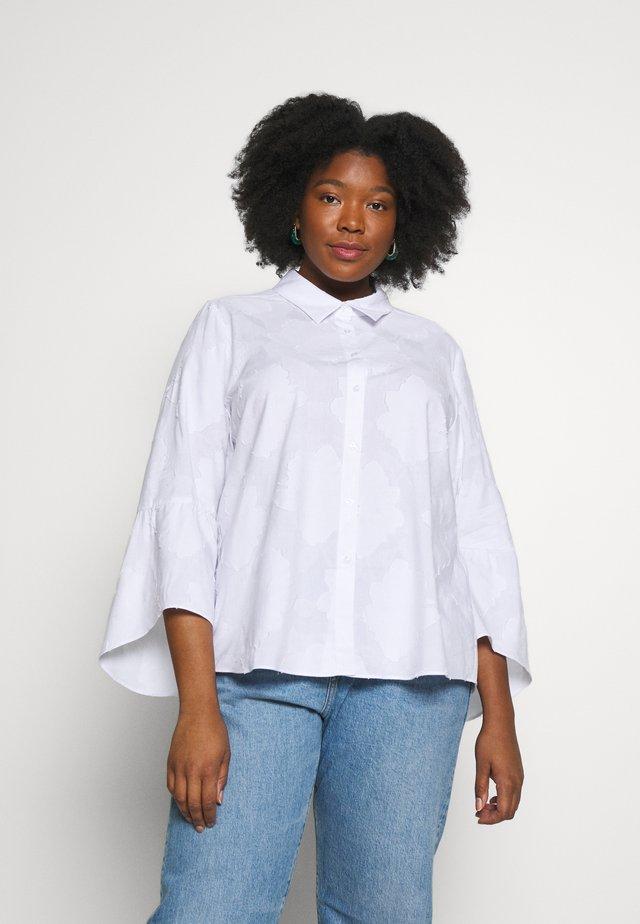 BACCA - Button-down blouse - bianco ottico