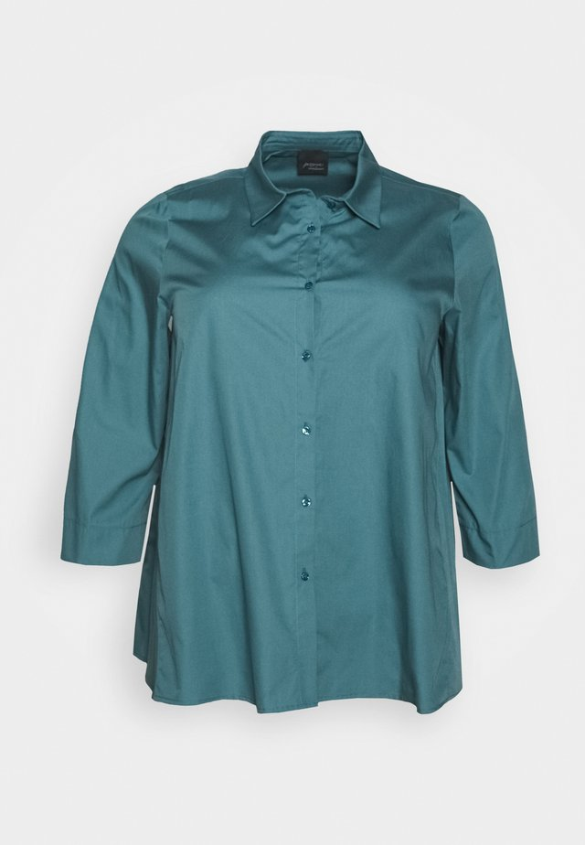BALSA - Button-down blouse - turquoise