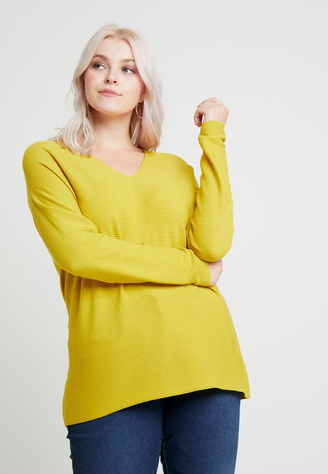AGRESTE - Strickpullover - yellow