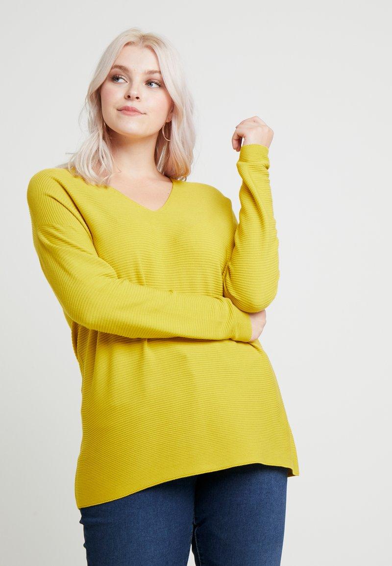 Persona by Marina Rinaldi - AGRESTE - Jumper - yellow