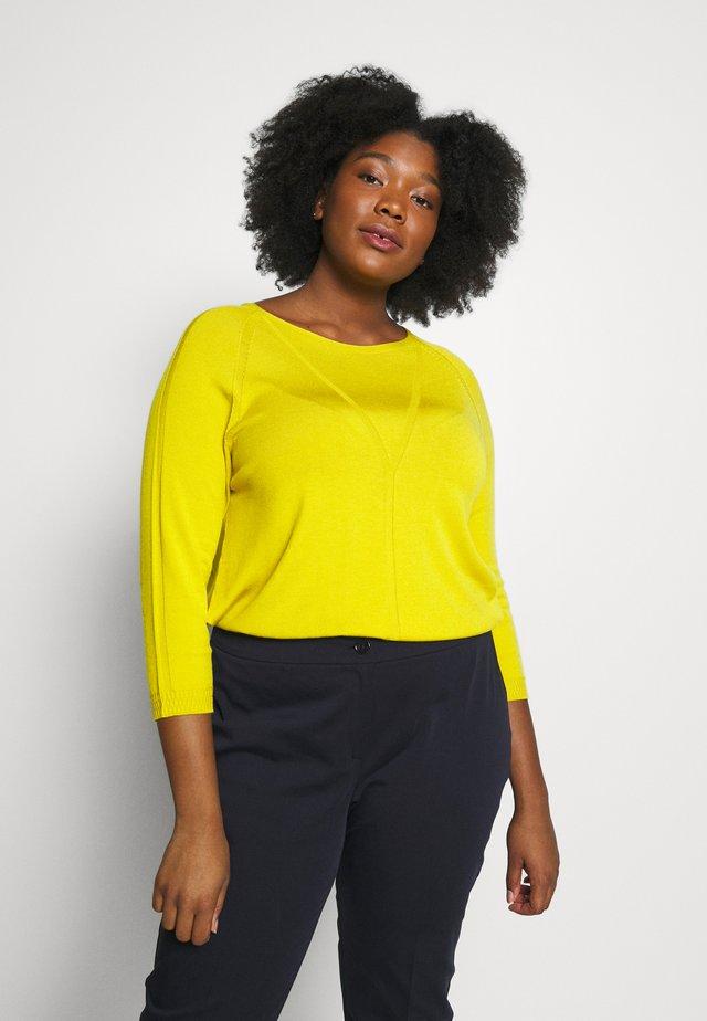 AUGURI - Sweter - giallo
