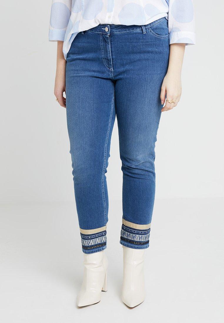 Persona by Marina Rinaldi - ICARO - Jeans Skinny - blue denim