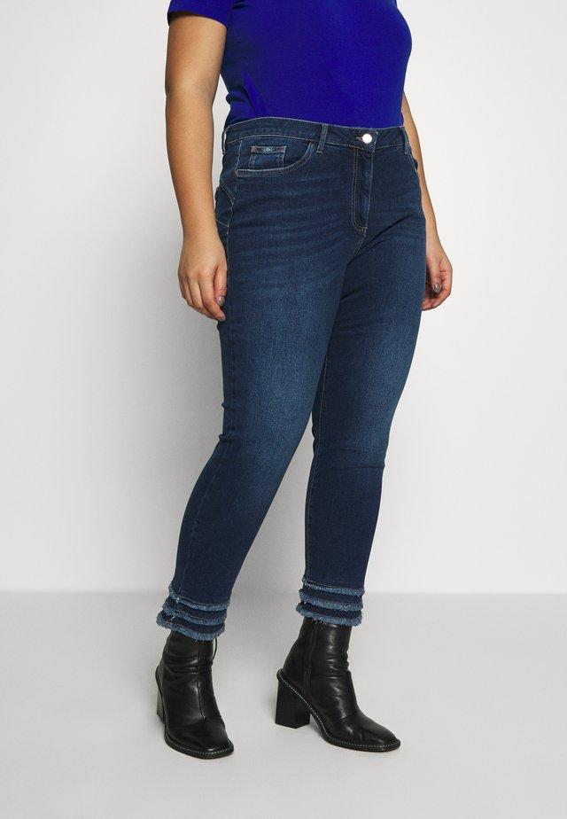 IDRA - Jeansy Skinny Fit - blu marino