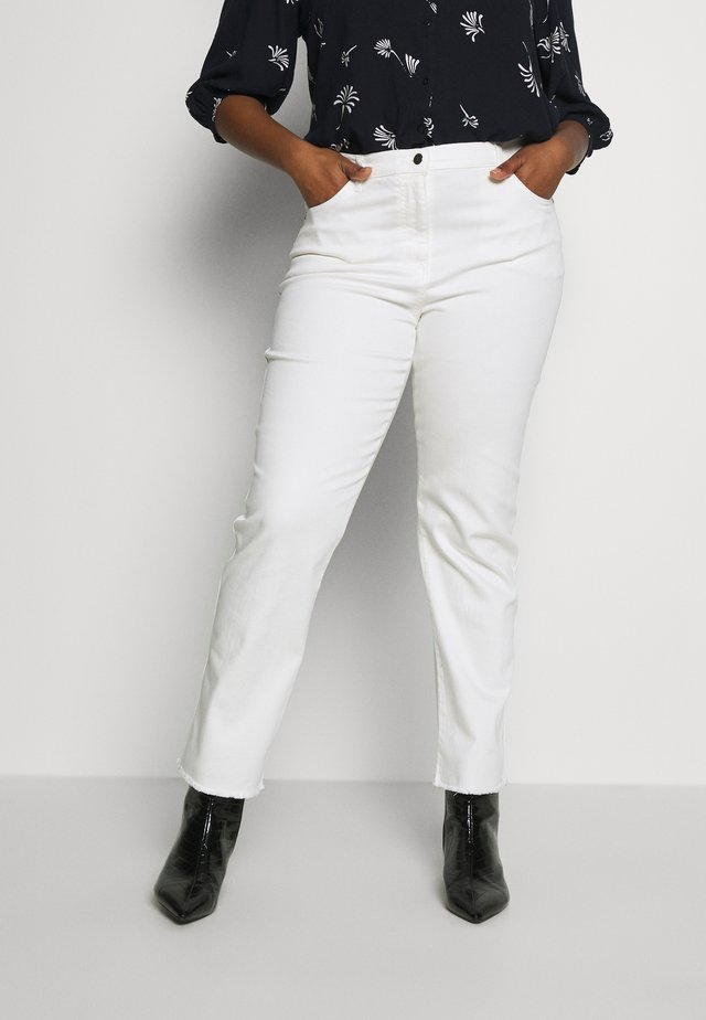 REALE - Jeansy Skinny Fit - bianco